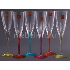 Набор бокалов для шампанского RCR italiana Фьюжн 305-128