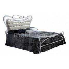 Кровать двуспальная Dupen Sofia 1.8 белый