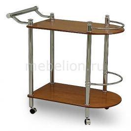 Стол сервировочный Петроторг А 1935CH хром/вишня светлая