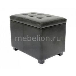 Банкетка Петроторг с ящиком для хранения 2550L черная