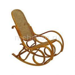 Кресло-качалка Петроторг 1807 L дуб светлый/коричневый