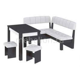 Набор кухонный Мебель Трия Уголок кухонный Альфа венге цаво/белый