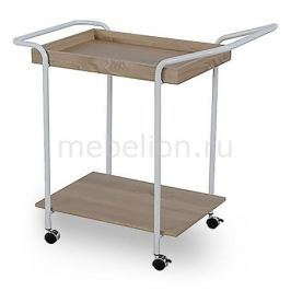Стол сервировочный Петроторг A1940 белый/бежевый
