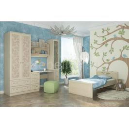Гарнитур для спальни Столлайн Дженни Cilegio Nostrano/Granite Rose