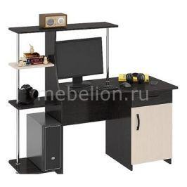 Стол компьютерный Мебель Трия Студент-Стиль (М) венге цаво/дуб молочный