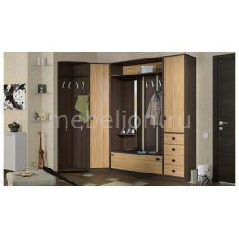 Набор для прихожей Мебель Трия Стенка для прихожей Марко ГН-146.001 груша монтего/бук роземур