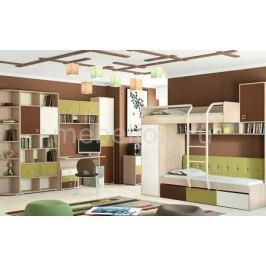 Набор для детской Мебель Трия Гарнитур для детской Тетрис ГН-154.009 ясень белладжио/молочный/оливковый/шоколадный