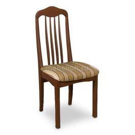 Стул мягкий Мебель Трия Стул Элегия Т1 СМ-68.4.001 орех/бежевый в коричневую полоску