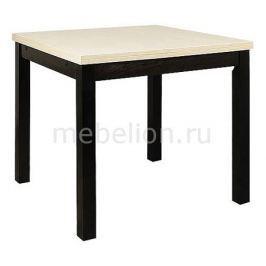 Стол обеденный Мебель Трия Диез Т2 венге/бежевый