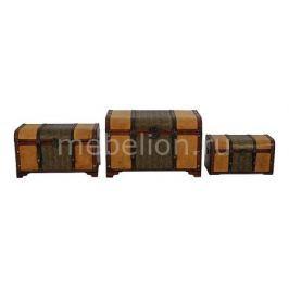 Набор сундуков Петроторг 2585 коричневый