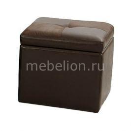 Банкетка Петроторг с ящиком для хранения 2552BS коричневая