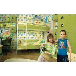 Гарнитур для детской 38 Попугаев Полосатый рейс клен/текстиль