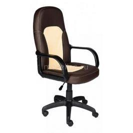 Кресло компьютерное Tetchair Parma коричневый_бежевый