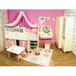 Гарнитур для детской 38 Попугаев Принцесса бежевый/розовый
