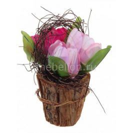 Растение в горшке Home-Religion (16 см) Из 3-х тюльпанов 56001900