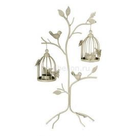 Подсвечник декоративный Акита (48 см) Клетка с птичкой 16378