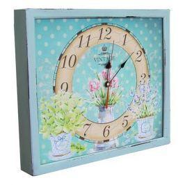 Настенные часы Акита (34х30 см) Кувшин с цветами 3034-18