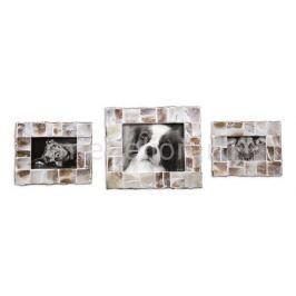 Фоторамка настольная Uttermost Набор из 3 фоторамок настольных Capiz 18558
