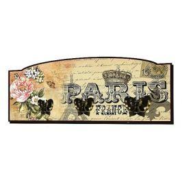 Настенная вешалка Акита (60х25 см) Париж S20