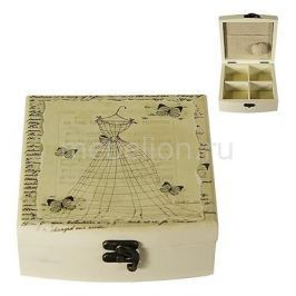 Шкатулка для украшений Акита (14.5х14.5 см) Прованс-AKI HL1118C
