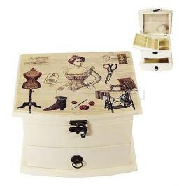 Шкатулка для украшений Акита (19х16 см) Прованс-AKI HL249C
