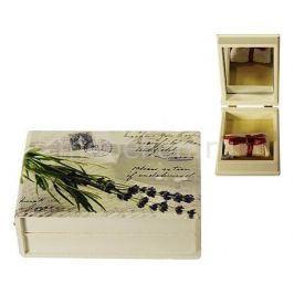 Шкатулка для украшений Акита (12х8.5 см) Прованс-AKI HL227C