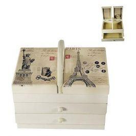 Шкатулка для украшений Акита (22х14 см) Прованс-AKI HL288