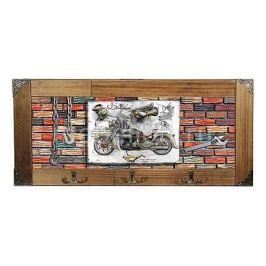 Настенная вешалка Акита (52х23 см) Мотоцикл 314-5