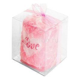 Свеча декоративная Гифтман (5.6х6.1 см) Love 16285