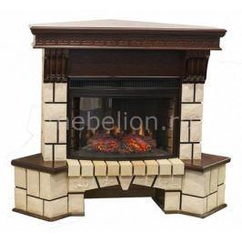 Электрокамин напольный Real Flame (128х76.5х107 см) Stone New Corner 00010009990