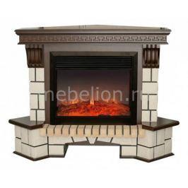Электрокамин напольный Real Flame (134х43х107 см) Stone New Corner 00010011154