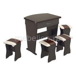 Набор кухонный Мебель Трия тип 2 венге/«Санчо»/коричневый