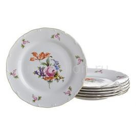 Набор тарелок плоских АРТИ-М Набор из 6 тарелок плоских Майсеновский букет 655-148