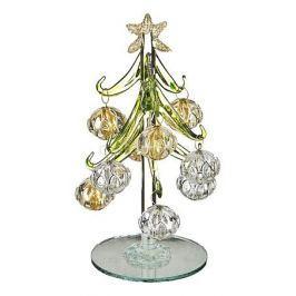 Ель новогодняя с елочными шарами АРТИ-М (15 см) ART 594-100