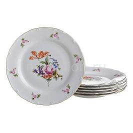 Набор тарелок плоских АРТИ-М Набор из 6 тарелок плоских Майсеновский букет 655-146