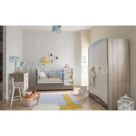 Набор для детской New Joy Гарнитур для детской Blue Peny коричневый/белый/голубой/серый