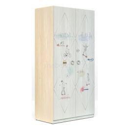 Шкаф платяной Сканд-Мебель Актив-2