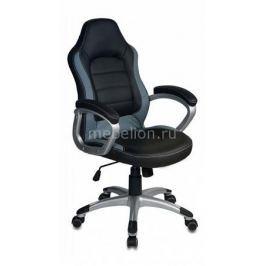 Кресло компьютерное Бюрократ Бюрократ CH-825S/Black+Gr черный/серый