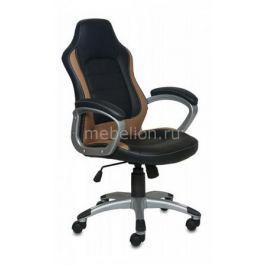 Кресло компьютерное Бюрократ Бюрократ CH-825S/Black+Bg черный/бежевый
