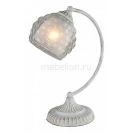 Настольная лампа декоративная IDLamp Bella 285/1T-Whitepatina