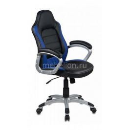 Кресло компьютерное Бюрократ Бюрократ CH-825S/Black+Bl черный/синий