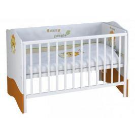 Кроватка Polini Polini Basic Джунгли
