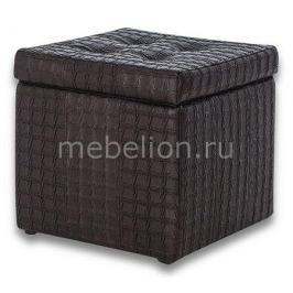 Пуф-сундук Dreambag Модерна Черная Ребристая
