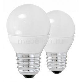 Комплект из 2 ламп светодиодных Eglo G45 E27 45Вт 3000K 10777
