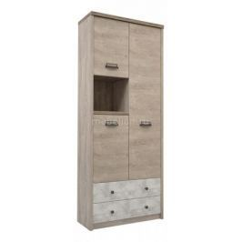 Шкаф комбинированный Анрекс Diesel 3D2SN/D2