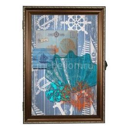 Ключница Акита (24х34 см) Морская тема 312-49