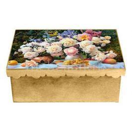 Шкатулка декоративная Акита (26х18х13 см) Пионы 1826-9-1
