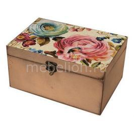 Шкатулка декоративная Акита (26х18х11.5 см) Цветы 1725-13