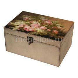 Шкатулка декоративная Акита (26х18х11.5 см) Розы 1725-1