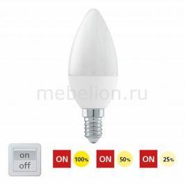 Лампа светодиодная диммируемая Eglo С37 E14 6Вт 3000K 11581